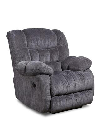 Chelsea Home Furniture 1894605861PWR Laguna Series Transitional Polyester Wood Frame Rocking Recliners