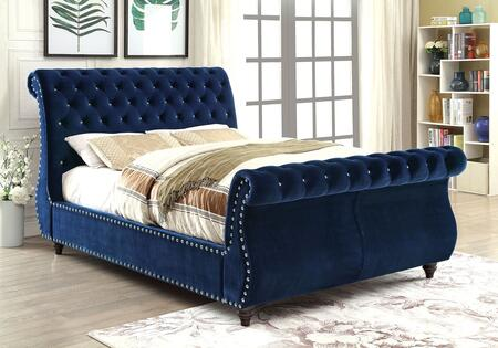 Furniture of America CM7128NVQBED Noella Series  Queen Size Bed