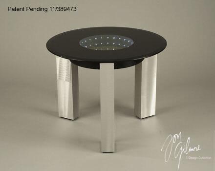 Nova 5410143 Stealth Series Contemporary  End Table