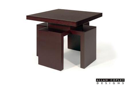 Allan Copley Designs 3050502 26x26x23 Sebring Square End Table