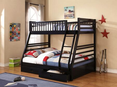 Coaster 460181 Cooper Series  Twin Over Full Size Bunk Bed