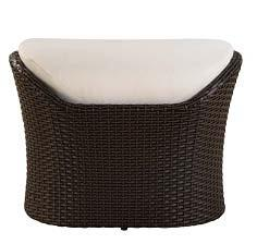 Global Furniture USA S931T2 Contemporary Patio Ottoman