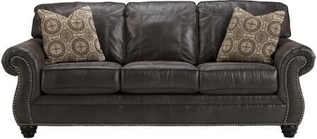 Flash Furniture FBC8009SOCHGG Breville Series Stationary Faux Leather Sofa