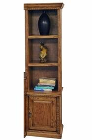 Legends Furniture SD3204RSTScottsdale Series Wood 3 Shelves Bookcase