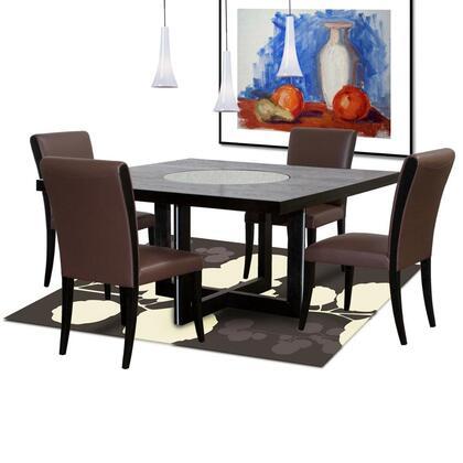 Diamond Sofa 0382S1990M5PC Diamond Sofa Dining Room Sets