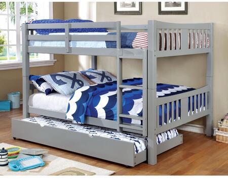 Furniture of America CMBK929FGYBEDT Cameron Full Bedroom Set