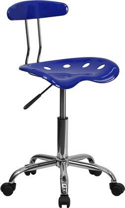 "Flash Furniture LF214NAUTICALBLUEGG 17"" Adjustable Contemporary Office Chair"