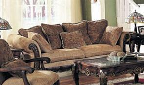 Acme Furniture 05600 Bordeaux Series Sofa Fabric Sofa