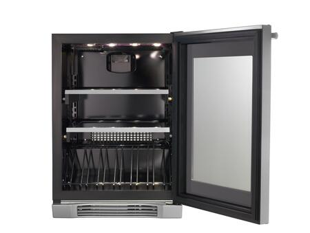 Electrolux Ei24bc65gs 23 81 Inch Built In Wine Cooler In