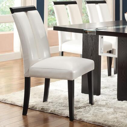 Coaster 104563 Kenneth Series Contemporary Vinyl Wood Frame Dining Room Chair