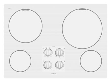 Maytag MEC7430WW  Electric Cooktop
