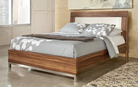 Milo Italia BR7854346QRS Pineda Series  Queen Size Panel Bed
