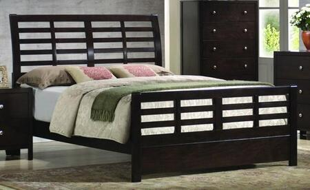Coaster 200800Q Zoe Series  Queen Size Platform Bed