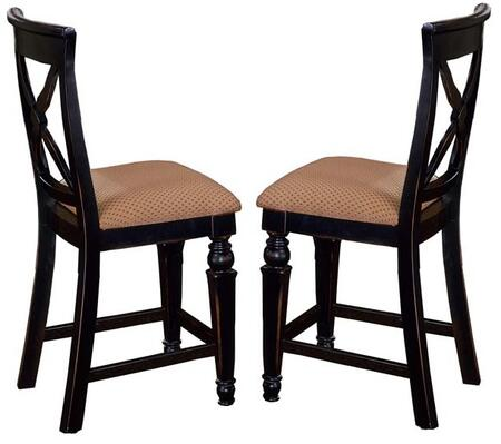Hillsdale Furniture 4439822W Northern Heights Series Residential Fabric Upholstered Bar Stool