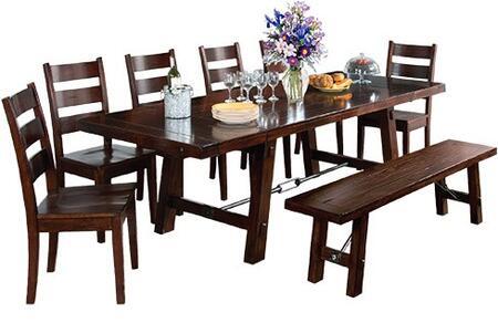 Sunny Designs 1380RMDT6C Vineyard Dining Room Sets
