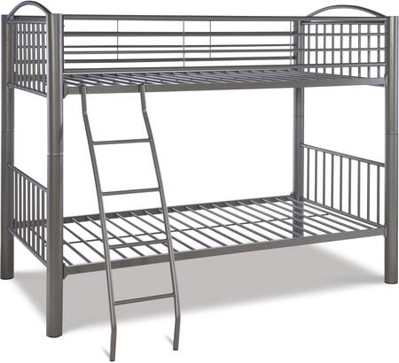 Powell 941138 Youth Beds/Bunks Series  Twin Size Bunk Bed