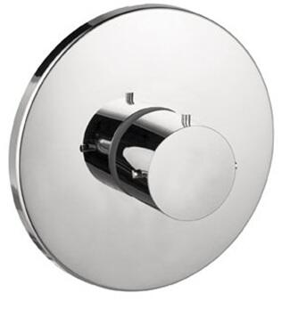 Hansgrohe 10715 Axor Starck Thermostatic Valve Trim with Metal Knob Handle: