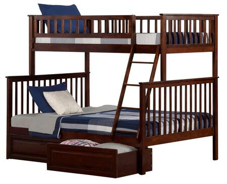 Atlantic Furniture AB56224  Twin over Full Size Bunk Bed