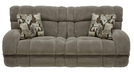 """Catnapper Siesta Collection 1761- 93"""" Lay Flat Reclining Sofa with Lay Flat Reclining, Polyester Fabric Upholstery and Track Arms in"""