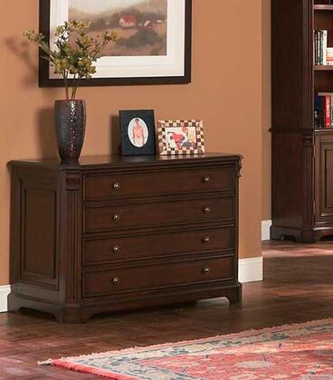 "Coaster 800565 42.5"" Wood Transitional File Cabinet"