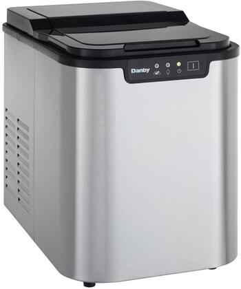 Danby DIM2500SSDB  Freestanding Ice Maker with 25 lbs. Daily Ice Production, Yes Ice Storage, in Stainless Steel