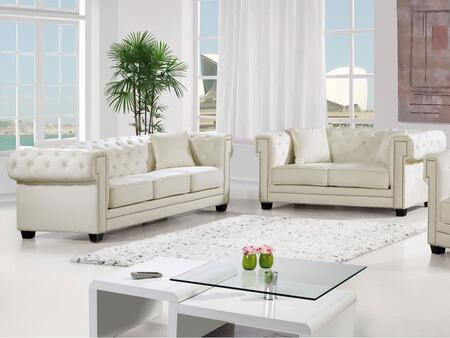 Meridian 6142PCSTLKIT4 Bowery Living Room Sets