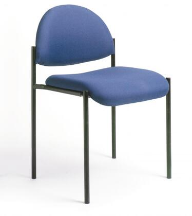 """Boss B9505 31"""" Diamond Stacking Chair with Powder Coated Steel Frames, Tapered Legs, and Waterfall Seat"""
