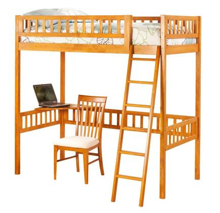 Atlantic Furniture AB62007  Twin Size Loft Bed