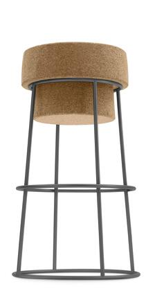 Domitalia BOUCHRSB0FAB Bouchon-Sgb Series Residential Not Upholstered Bar Stool