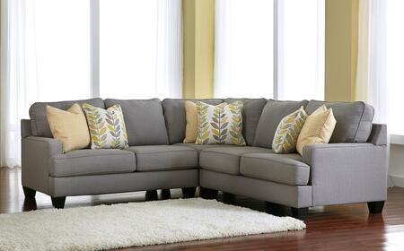 Signature Design by Ashley Chamberly Fabric Sectional Sofa ...