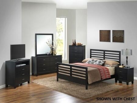 Glory Furniture G1250CFB2DMNTV G1250 Full Bedroom Sets