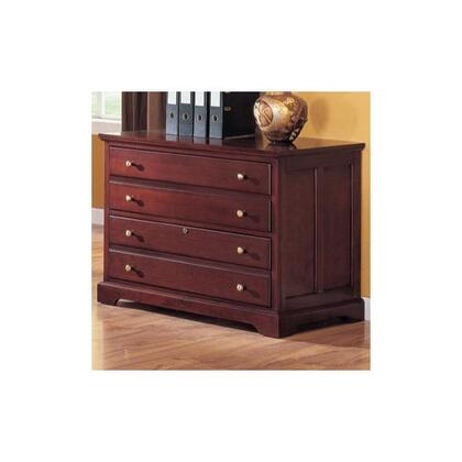 "Coaster 800574 39.75"" Wood Transitional File Cabinet"