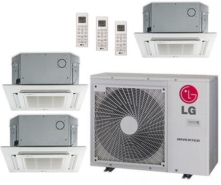 LG 704206 Triple-Zone Mini Split Air Conditioners