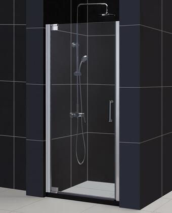 "DreamLine SHDR-41 DreamLine Elegance Frameless Clear 3/8"" Glass Pivot Shower Door in"
