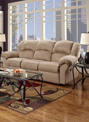 Chelsea Home Furniture 1003SC Verona IV Series Reclining Microfober Sofa