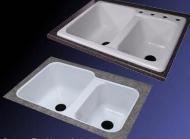 Lyons DKS22VETB4 Kitchen Sink