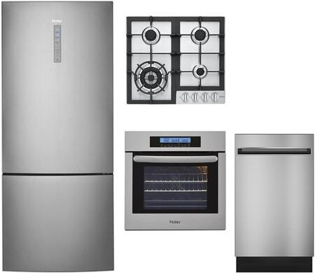 Haier 892218 Kitchen Appliance Packages | Appliances Connection