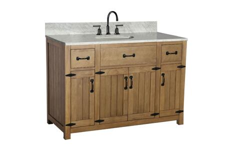 Legion Furniture WLF6044 Weathered Gray Sink Vanity Matching Granite From Wlf6036-49, No Faucet