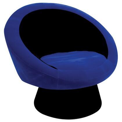 LumiSource CHRSAUCEBK Saucer Chair