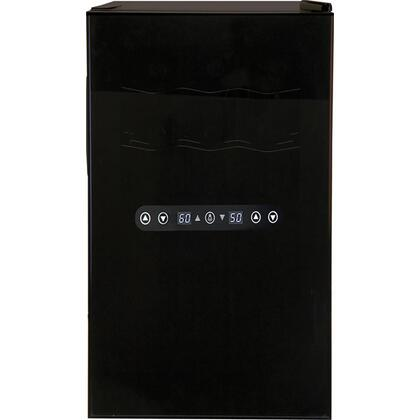 "Haier HVTM18DABB 19.75"" Wine Cooler, in Black"
