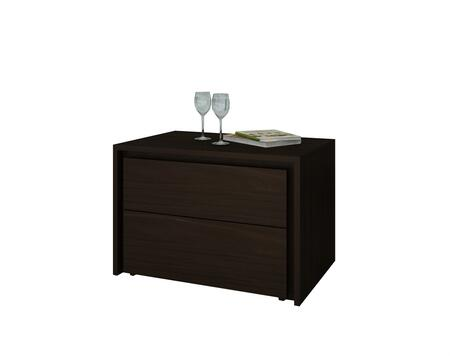 """Casabianca Zen Collection CB-1104-N 23"""" Nightstand with 2 Drawers and MDF Construction in"""