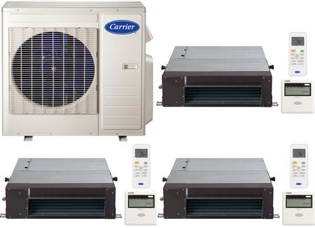 Carrier 700807 Performance Triple-Zone Mini Split Air Condit