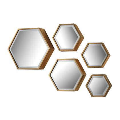 Sterling 138170S5 Hexagonal Series Other Both Wall Mirror