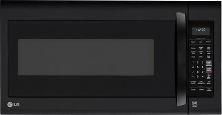 """LG LMV2031S 30"""" Over-the-Range Microwave with 2.0 cu. ft., 1,000 Cooking Watts, 400 CFM Venting System, Sensor Cooking Controls, Child Lock, Front Vent, and Porcelain Coated Interior in"""