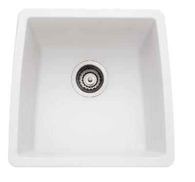 Blanco 4400TT Performa Sligranit Single Bowl Undermount Kitchen Sink