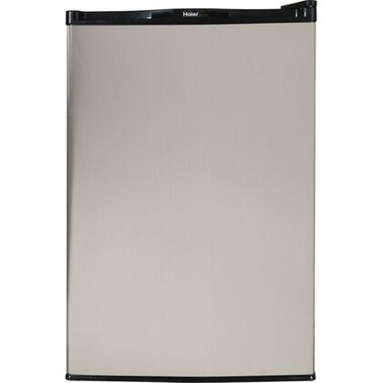 Haier HNSE045VS HNSEB045VS Series Compact Refrigerator with 4.5 cu. ft. Capacity in Stainless Steel