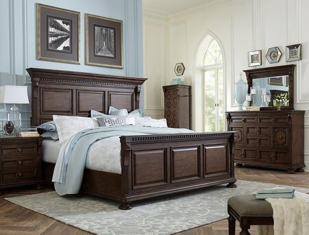 Broyhill 4912KPBNLCDM Lyla King Bedroom Sets
