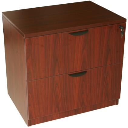 "Boss N112M 31"" Wood Traditional File Cabinet"