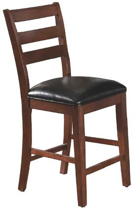 American Heritage 124743  Bonded Leather Wood Frame Dining Room Chair