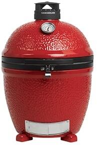 "Kamado Joe BJ24NRHC 50"" Freestanding Grill, in Red"